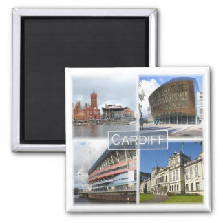 GB * Cardiff Wales Magnet