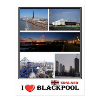 GB England - Blackpool - Postcard