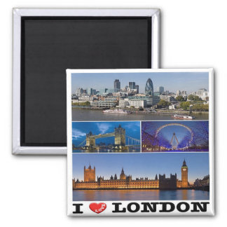 GB - England - London - I Love Magnet