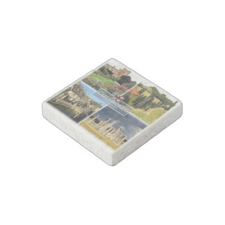 GB  England - The Cotswolds - Castle Combe - Stone Magnet