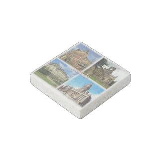 GB England - Yorkshire - Leeds Stone Magnet
