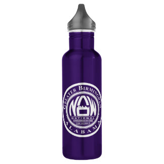 GB NOW Water bottle with white print