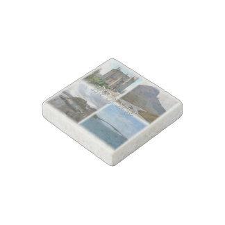 GB  Scotland - The Isle Of Skye- Castle - Stone Magnet