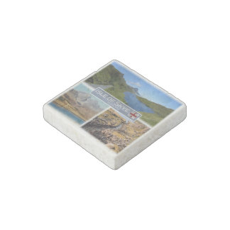GB  Scotland - The Isle of Skye - Loch Fada - Stone Magnet