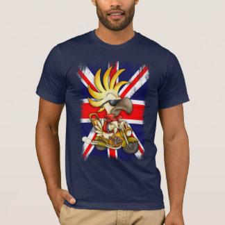 GB T Shirt, Union Jack T Shirt With Cockatoo