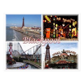 GB United Kingdom - England - Blackpool - Postcard