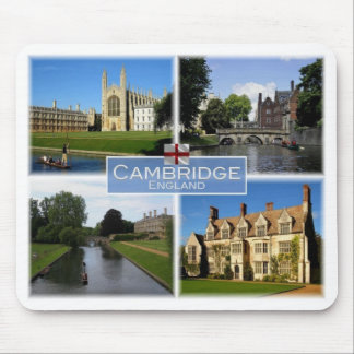 GB United Kingdom - England - Cambridge - Mouse Pad