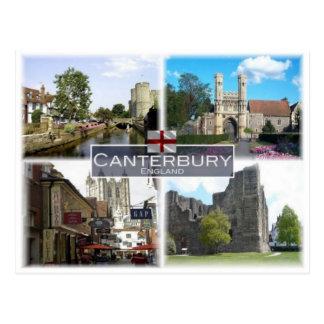 GB United Kingdom - England - Canterbury - Postcard