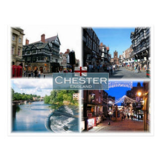 GB United Kingdom - England - Chester - Postcard