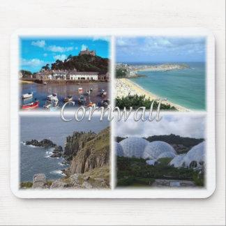 GB United Kingdom - England - Cornwall - Mouse Pad