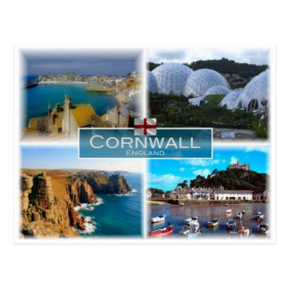 GB United Kingdom - England - Cornwall - Postcard