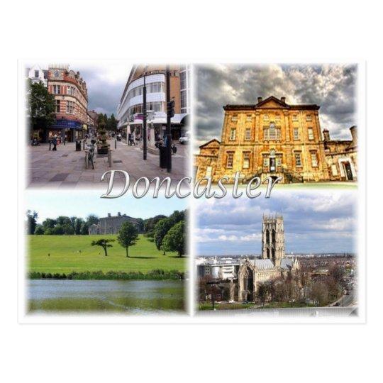 GB United Kingdom - England -Doncaster - Postcard