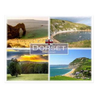 GB United Kingdom - England - Dorset -. Postcard