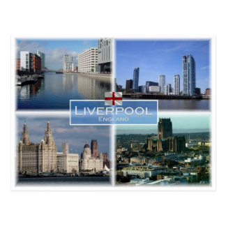 GB United Kingdom - England - Liverpool - Postcard