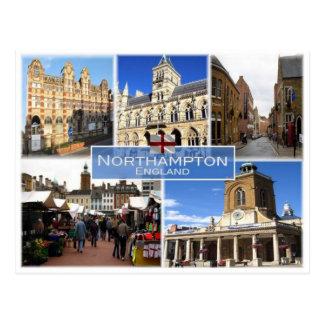 GB United Kingdom - England - Northampton - Postcard