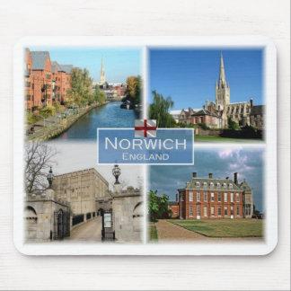 GB United Kingdom - England - Norwich Norfolk - Mouse Pad