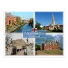 GB United Kingdom - England - Norwich Norfolk - Postcard