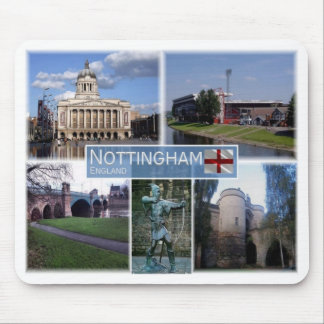 GB United Kingdom - England - Nottingham - Mouse Pad