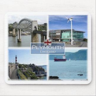 GB United Kingdom - England - Plymouth Devon - Mouse Pad
