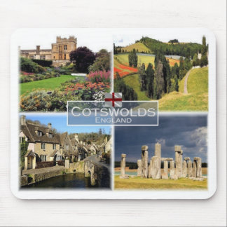 GB United Kingdom - England -The Cotswolds - Mouse Pad