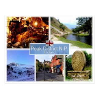 GB United Kingdom - England - The Peak District NP Postcard