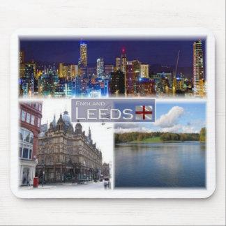 GB United Kingdom - England - Yorkshire - Leeds - Mouse Pad