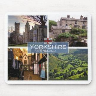 GB United Kingdom - England - Yorkshire - Mouse Pad