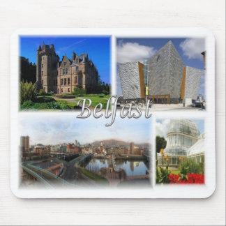 GB United Kingdom - Northern Ireland - Belfast - Mouse Pad