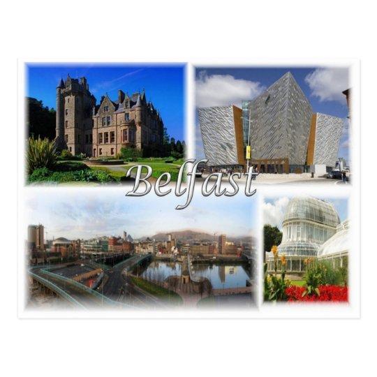 GB United Kingdom - Northern Ireland - Belfast - Postcard