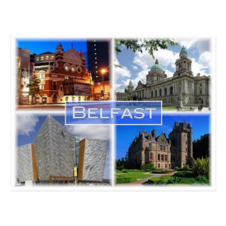 GB United Kingdom - Northern  Ireland - Belfast - Postcard