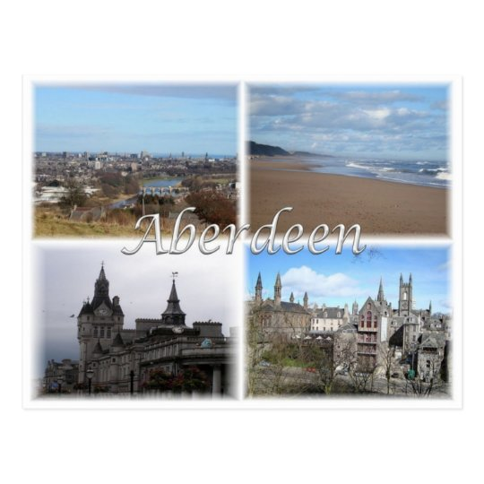 GB United Kingdom - Scotland -  Aberdeen - Postcard