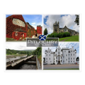 GB United Kingdom - Scotland - Pitlochry - Postcard