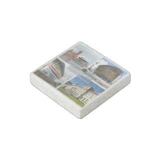 GB Wales - Cardiff - Millenium Stadium - Pierhead Stone Magnet