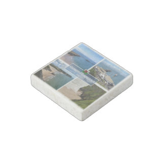 GB  Wales - The Gower Peninsula Mumbles - Stone Magnet