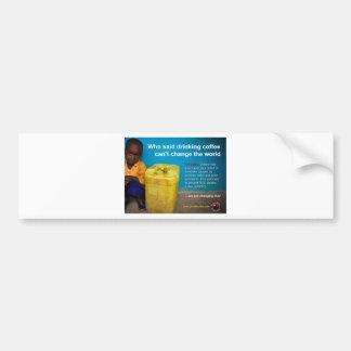 "GBCC Post Card ""water"" Bumper Sticker"