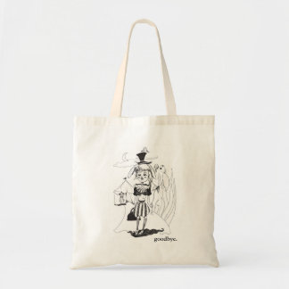 """G'bye My Clown"" Tote, with ""goodbye."" Inscription"