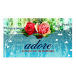 GC Adore in Roses Vintage Turquoise Blue