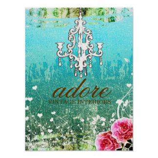GC Adore Vintage Poster