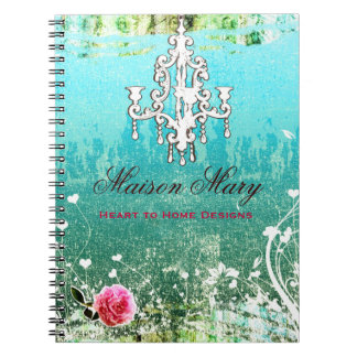 GC Adore Vintage Turquoise Spiral Notebook