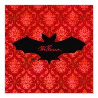 GC | Battin' a Thousand La Rouge 13 Cm X 13 Cm Square Invitation Card