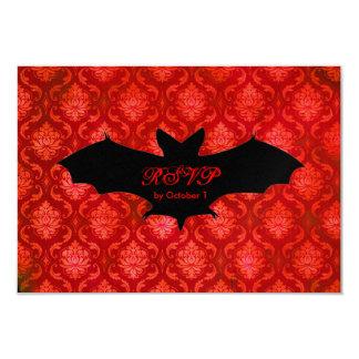 GC | Battin' a Thousand  La Rouge RSVP 9 Cm X 13 Cm Invitation Card