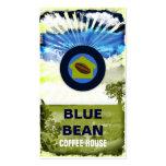 GC   Blue Bean Coffee House Business Card