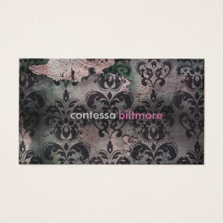 GC Captivating Contessa | Pink | MatteCreamCard Business Card