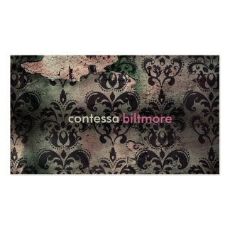 GC Captivating Contessa | Pink | MatteCreamCard Pack Of Standard Business Cards