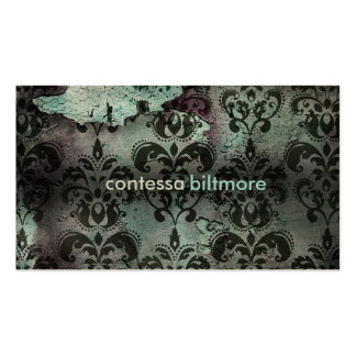 GC | Captivating Contessa | Teal | MatteCreamCard Pack Of Standard Business Cards