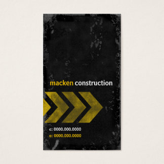 GC | CONSTRUCTION MACKDADDY BUSINESS CARD