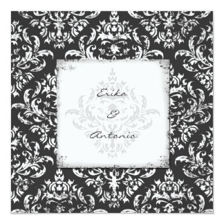 GC | Erika Vintage Damask-Gray Card