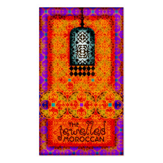 GC Exotic Jewelled Moroccan Business Cards