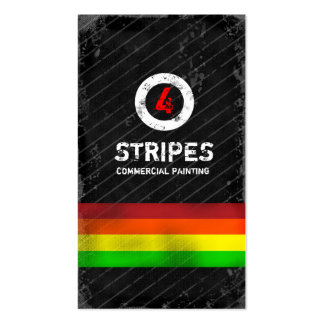 GC   Four Stripes Business Card Template