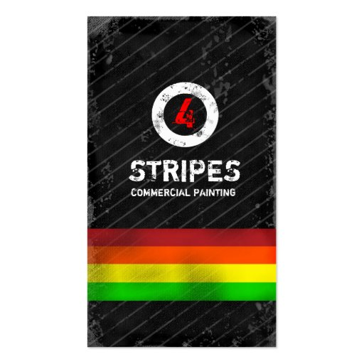 GC | Four Stripes Business Card Template